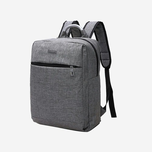 Leather Black Laptop Backpack, For Personal