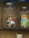 Tape Wall Glassware