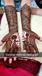 Engagement mehndi