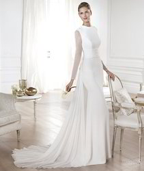 Bridal Dress with Train (Mermaid)