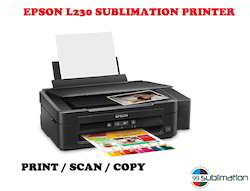Epson L230 Printer with Scan/Copy Cotton T-Shirts at Rs 9999 /piece