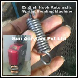 English Hook Spring Bending Machine