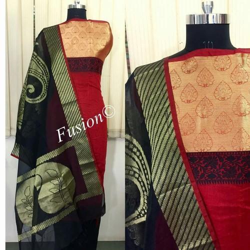 9dc83a876f Handloom Banarasi Silk Dress Material, रेशम की पोशाक ...