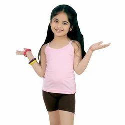 Baby Pink Cotton Kids Slip