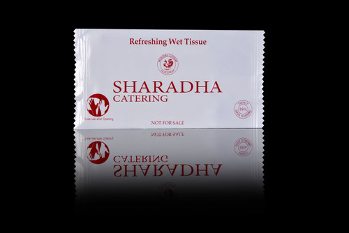 OEM Lavender Sharadha Catering Single Wipes