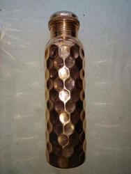 Copper Diamond Bottle