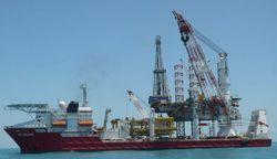 Offshore Heavy Deck Crane Vessel Repair Service