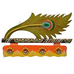 Morpankhi 5 Key Holder with Kundan Work