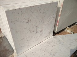 Banswara White Marble Slab, Thickness: 10-15 mm