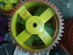 Mild Steel Round 12 And 14 Stone Crusher Gear, for Machinery