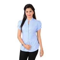 Ladies Cotton Formal Shirt