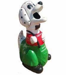 FRP Fiber Dog Dustbin