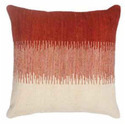 Red and White Square Cushions