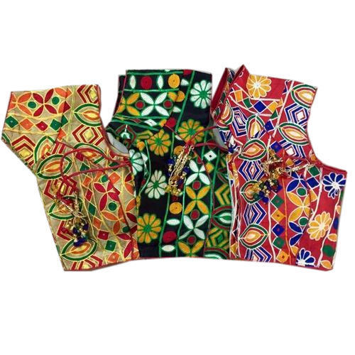 d5756d355c6dd Multicolor Rajasthani Blouse