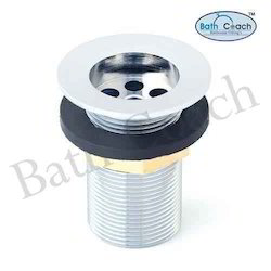 Brass CP Full Thread Waste Coupling