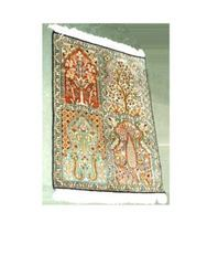 Hand Knotted Carpets Silk