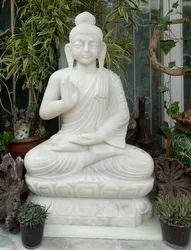 Marble Budha Statue