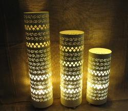 Electric Kreative Arts Pedestal Lamps