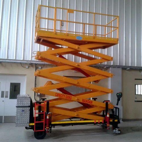 Material Handling Solutions - Self Propelled Scissor Lift