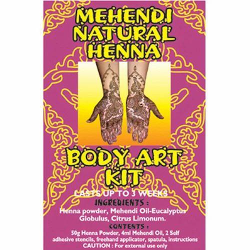 Henna Body Art Kit At Rs 200 Pack À¤Ÿ À¤Ÿ À¤• À¤Ÿ S2 International New Delhi Id 13414233955