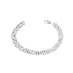 Ultra Light Elizabeth 925 Sterling Silver Bracelet