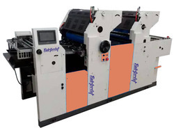 2 Color Non Woven Offset Printing Machine