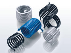 Stainless Steel Black, Grey and Blue Torsion Springs, for Industrial