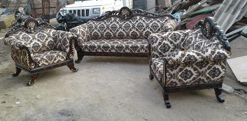 Perfect Wooden Carving Sofa Set
