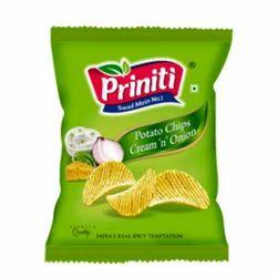 Cream N Onion Potato Chips