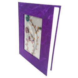 Purple Floral Diary