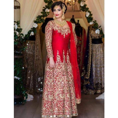 Heavy Kasab Zari Work Gown at Rs 2599 /piece | Work Gowns | ID ...