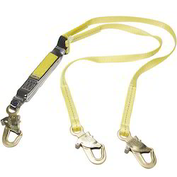 Shock Absorbing Webbing Lanyards