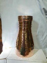 Copper Jug N Bottle 2 In One
