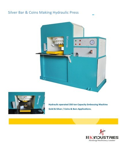 Hydraulic Press for Silver Coins & Bars