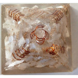 Orgone Pyramid Of Selenite