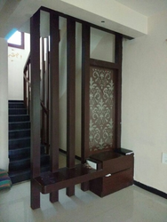 Wooden Partition wood partition in bengaluru, karnataka | lakdi ka partition