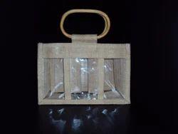 特小3窗黄麻罐袋