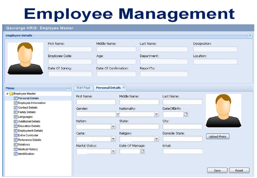 Human Resources Information System Software - Gauranga Soft