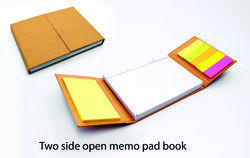Two Side Open Eco Memo Pad