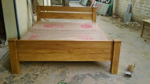 0e95456a50 Teak Wood King Size Weight Cot New, किंग बेड - Sathiya Furn ...