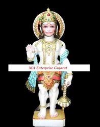 Hanuman Marble Statue