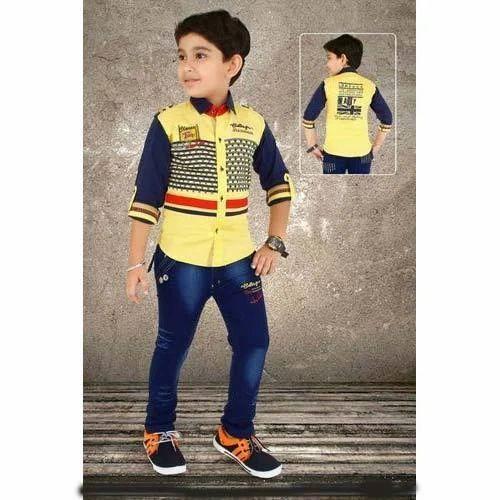 ee994fdfe862d Kids Designer Pant Shirt at Rs 935 /piece | Kids Pant | ID: 13016380112