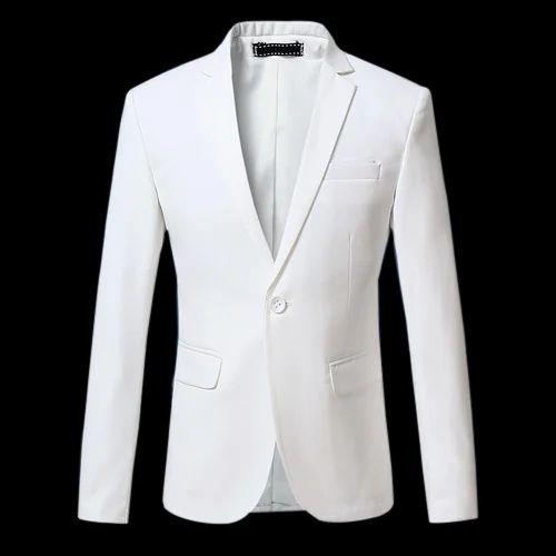 5d1f2f519ccc3 Mens White Blazer