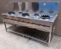 LPG Gas Chinese Cooking Range