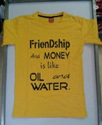 Yellow Printed T Shirts