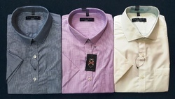 Cotton Polo Garment Stock Lot Shirt
