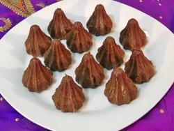 Chocolate Almond Modak