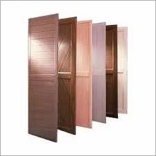 Brown PVC Doors, For Bathroom, Interior