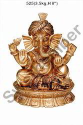 Brass Ganesh Ji Idol