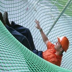Polypropylene Green Safety Net